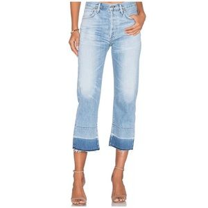 Citizens of Humanity Cora Crop Fray / Horizon Blue